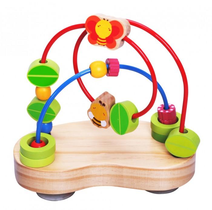 Деревянные игрушки Vulpi - wood лабиринт с деревянными бусинами exclaim браслет с бусинами
