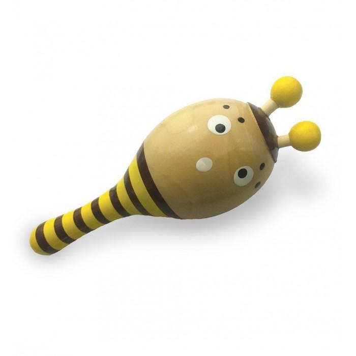 Деревянные игрушки Vulpi - wood маракас Пчелка arteast подвеска пчелка