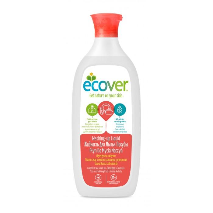 Фото Бытовая химия Ecover Экологическая жидкость для мытья посуды с грейпфрутом и зеленым чаем 500 мл