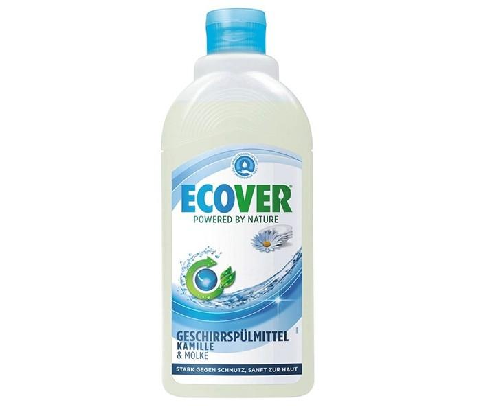 Бытовая химия Ecover Экологическая жидкость для мытья посуды с ромашкой 450 мл бытовая химия xaax ополаскиватель для посудомоечной машины 500 мл