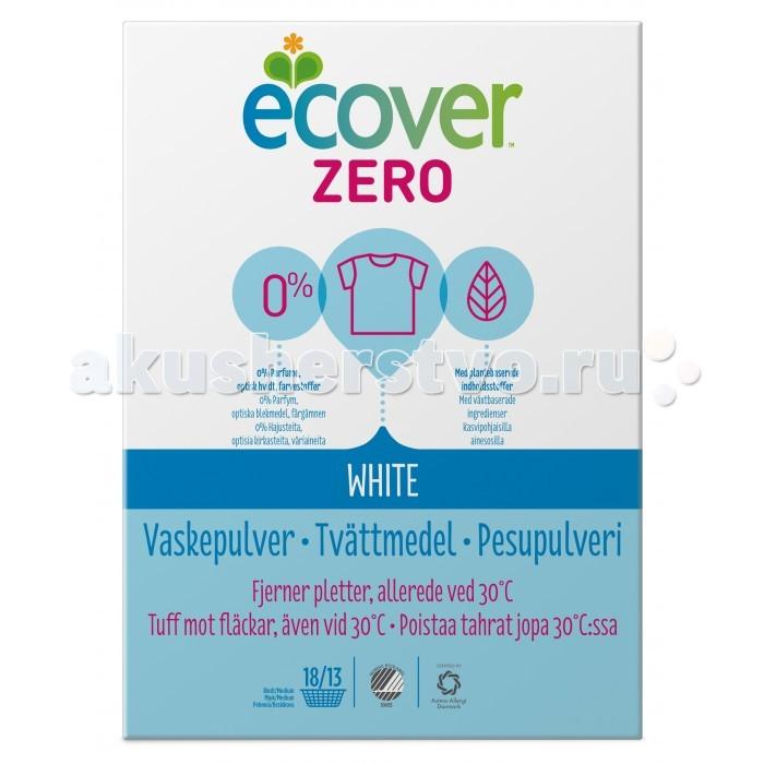 Бытовая химия Ecover Экологический стиральный порошок белый Zero 750 г