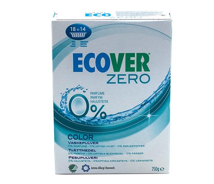 Ecover Экологический стиральный порошок цветной Zero 750 г