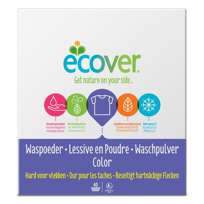 Ecover Экологический стиральный порошок-концентрат для цветного белья 1.2 кг