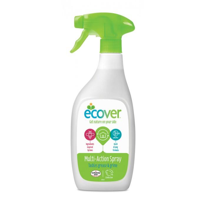Бытовая химия Ecover Экологический спрей для чистки любых поверхностей 500 мл ароматизатор воздуха chupa chups яблоко на дефлектор мембранный 5 мл