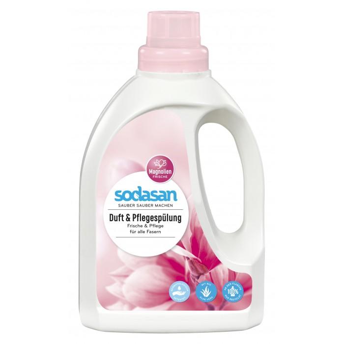 Бытовая химия Sodasan Кондиционер для белья с ароматом Магнолии 750 мл смягчитель тканей sodasan для быстрой глажки 750 мл
