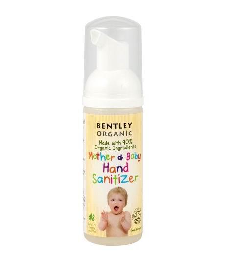 Косметика для новорожденных Bentley Organic Очиститель для рук матери и ребенка 50 мл