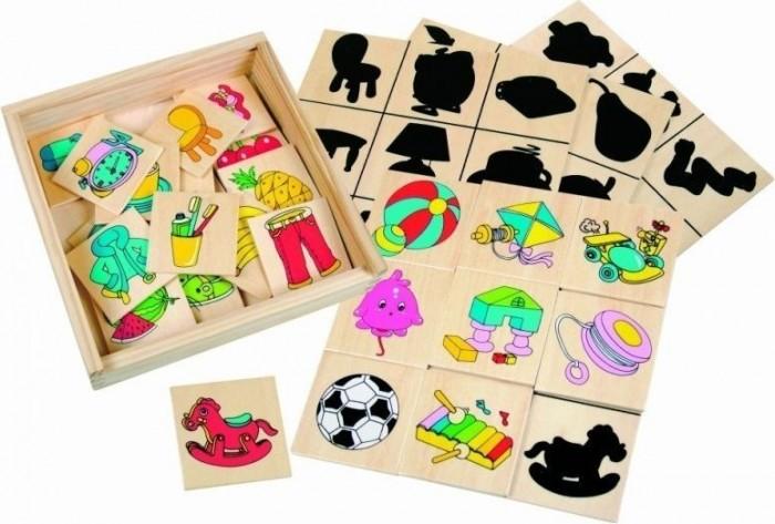Деревянные игрушки Bino Игра Что к чему относится аэлита развивающая игра цветные столбики