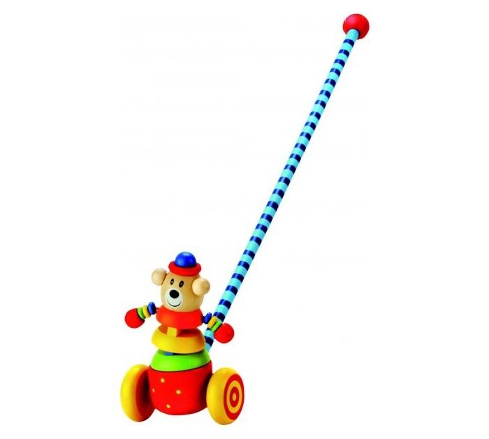 Каталки-игрушки Bino Медвежонок каталки игрушки ebulobo мишка большая