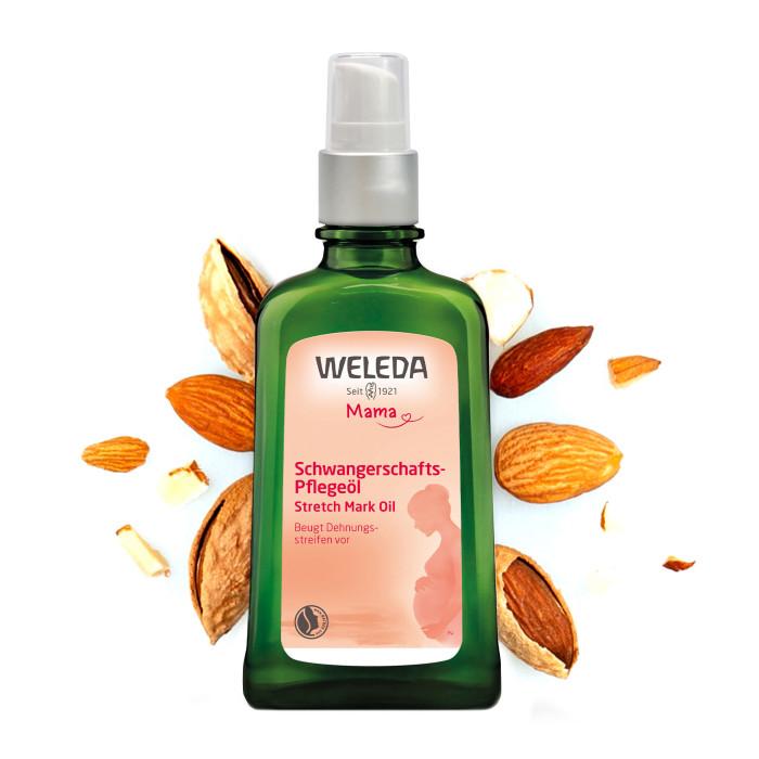 Косметика для мамы Weleda Масло для профилактики растяжек 100 мл масло от растяжек weleda для беременных 100 мл