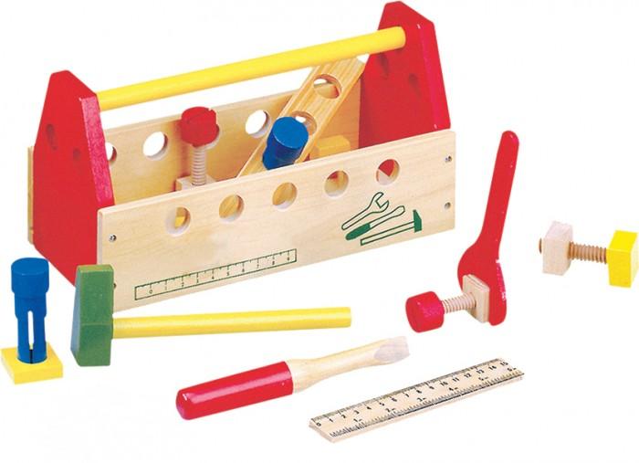 Деревянная игрушка Bino Ящик с инструментами