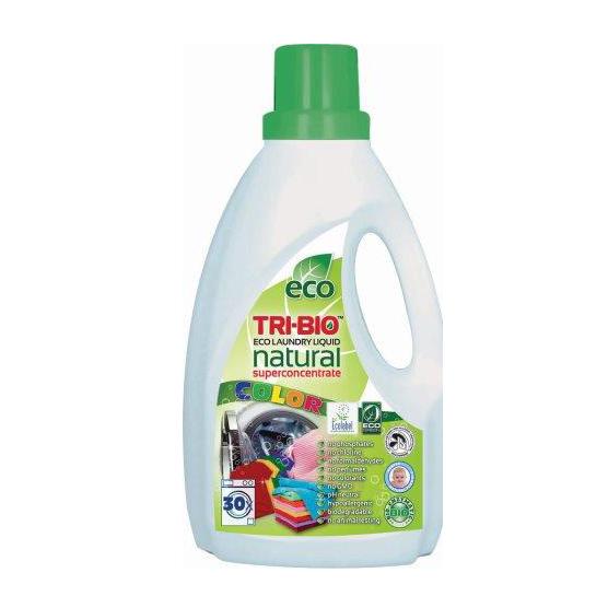 Tri-Bio Натуральная эко-жидкость для стирки цветного белья 1.42 л