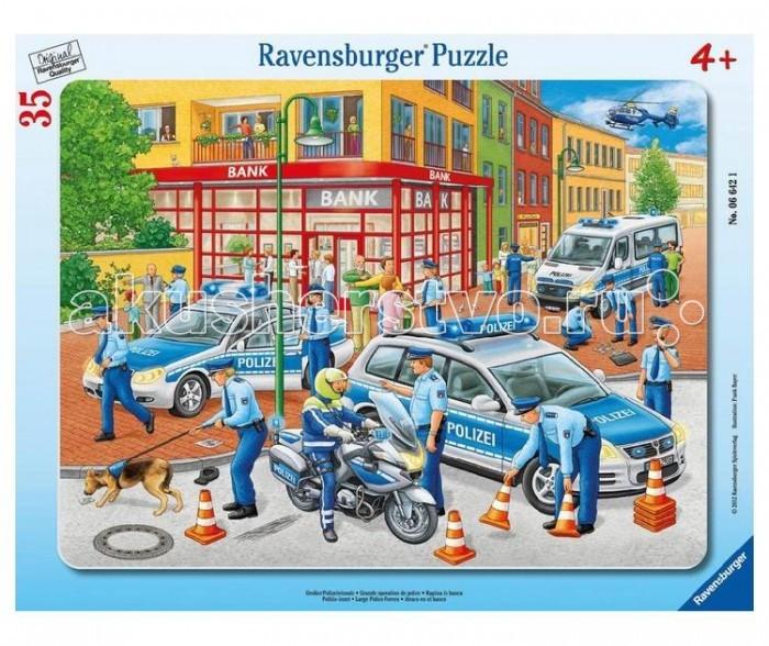 Пазлы Ravensburger Пазл Полиция 35 элементов пазлы ravensburger пазл полиция 15 элементов