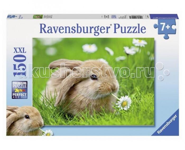 Пазлы Ravensburger Пазл Кролик в ромашках 150 элементов ravensburger пазл кролик в ромашках xxl 150 деталей