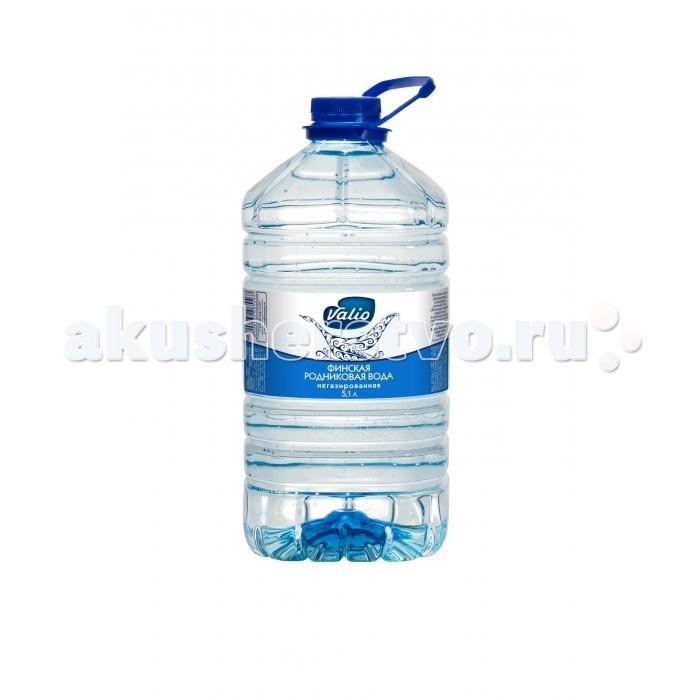 Вода Valio Вода питьевая родниковая 5,1 л valio малина злаки