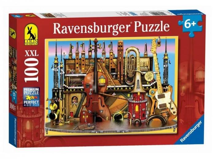Пазлы Ravensburger Пазл Музыкальный замок 100 элементов
