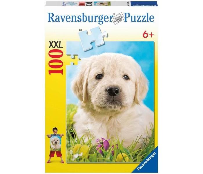 Пазлы Ravensburger Пазл Милый щенок 100 элементов