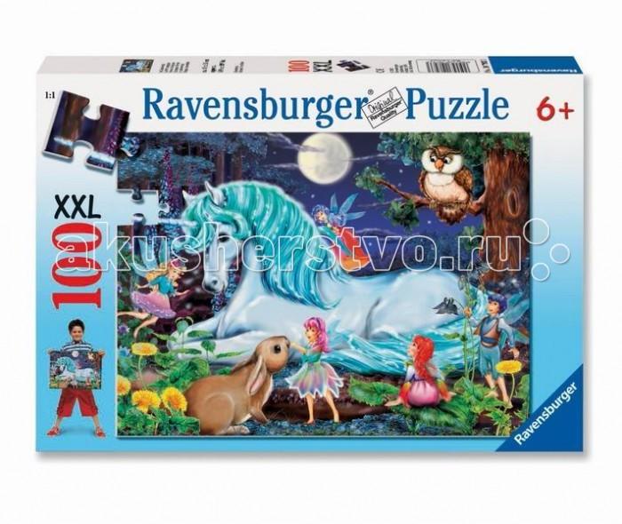 Пазлы Ravensburger Пазл Зачарованный лес 100 элементов