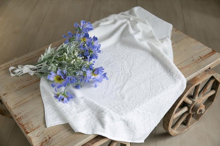 Детская одежда , Крестильная одежда Alivia Kids Крестильное полотенце Ангел-хранитель 130х70 12.708.10 арт: 341410 -  Крестильная одежда