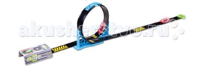 Bburago Скоростная Петля с 1 инерционной машиной Go Gear