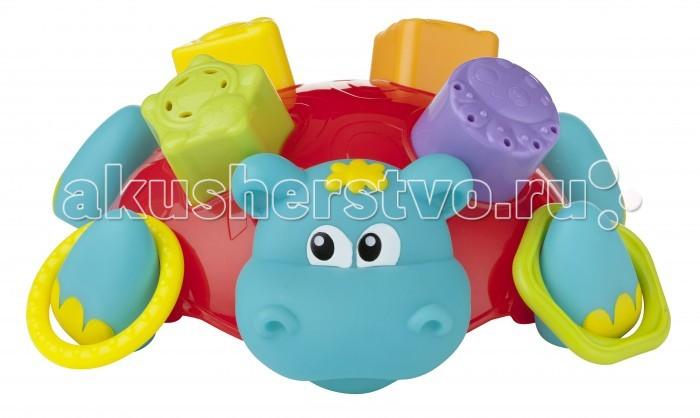 Купание малыша , Игрушки для ванны Playgro Сортер Бегемотик 0186575 арт: 341570 -  Игрушки для ванны