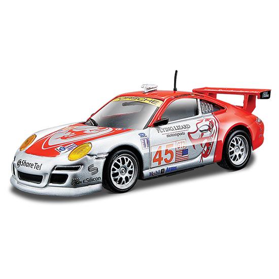 Машины Bburago 1:43 Машина Ралли Porsche 911 GT3 RSR bburago is f 1 64