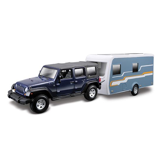 Bburago Машина Jeep Wrangler Unlimited Rubico