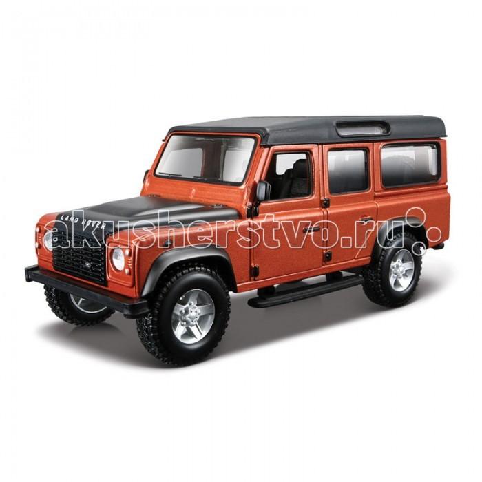 Машины Bburago Машина Land Rover Defender 110 каталог bburago