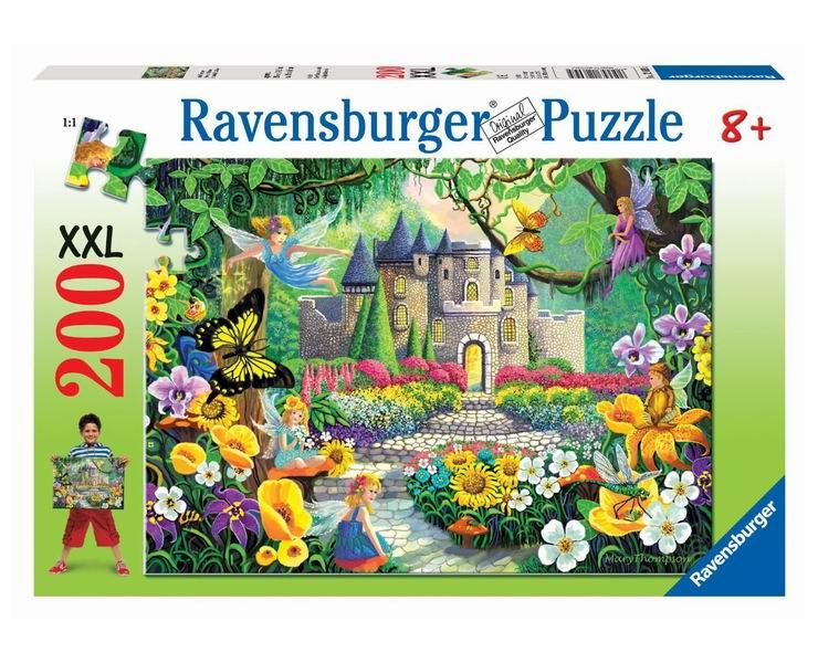 Пазлы Ravensburger Пазл Сказочный замок 200 элементов пазлы ravensburger пазл сказочный волк 500 деталей