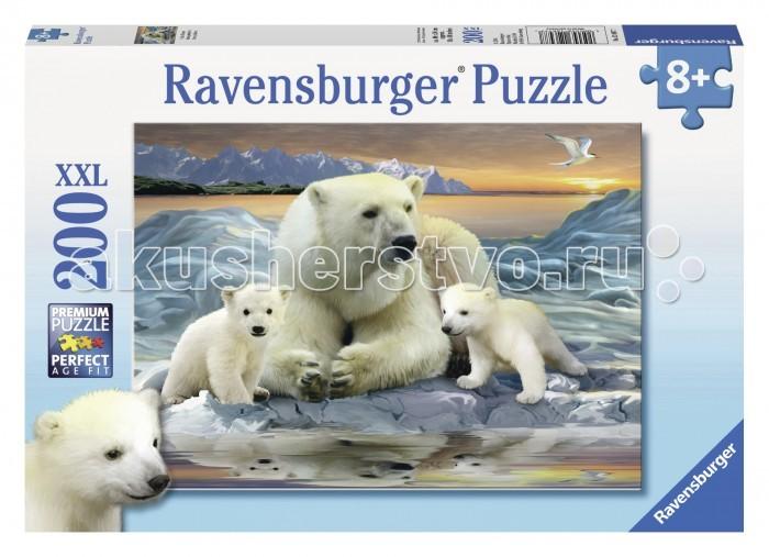 Пазлы Ravensburger Пазл Полярные медведи 200 элементов ravensburger ravensburger пазл полярные медведи xxl 200 шт