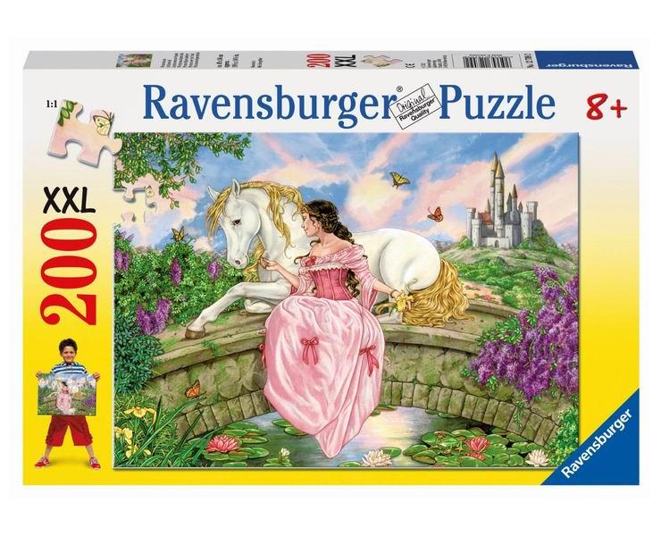 Пазлы Ravensburger Пазл Принцесса на пруду 200 элементов пазлы origami пазл дм зайчик и волчонок 25 элементов