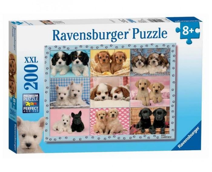 Пазлы Ravensburger Пазл Прелестные щенки 200 элементов пазлы ravensburger пазл прекрасное мгновенье xxl 200 элементов