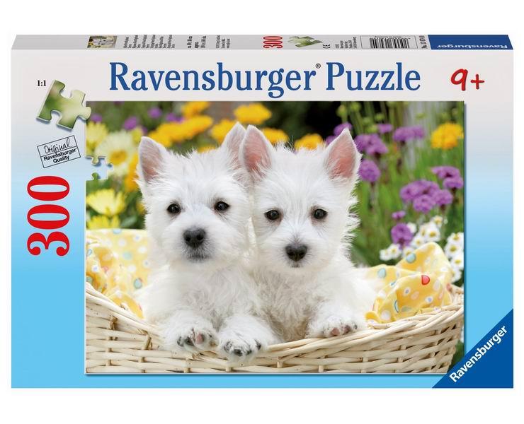 пазлы ravensburger пазл колизей 300 элементов Пазлы Ravensburger Пазл Вест хайленд уайт терьеры 300 элементов