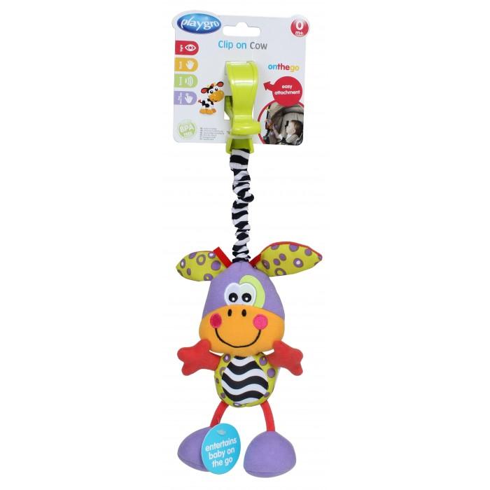 Подвесные игрушки Playgro Корова 4182507 playgro игрушка подвеска кто на дереве сидит