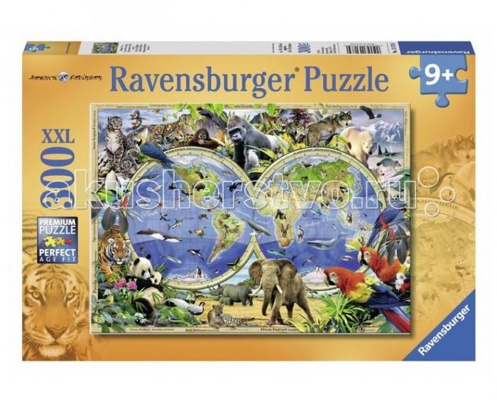 Пазлы Ravensburger Пазл Мир дикой природы 300 элементов пазлы origami пазл дм зайчик и волчонок 25 элементов