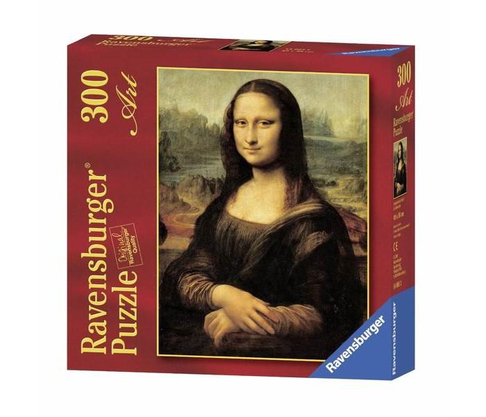 пазлы ravensburger пазл колизей 300 элементов Пазлы Ravensburger Пазл Леонардо да Винчи. Мона Лиза 300 элементов