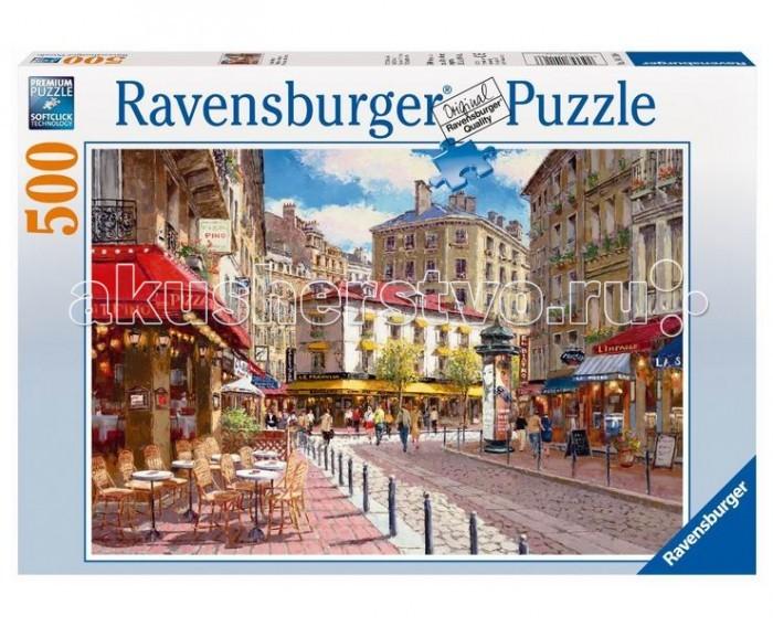 Пазлы Ravensburger Пазл Кафе в старом городе 500 элементов купить kafe bar v nikolaeve
