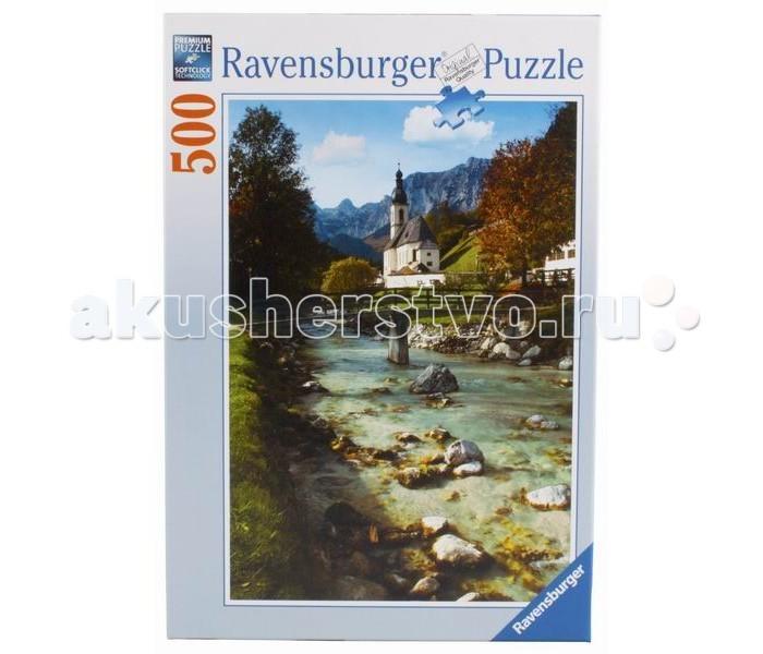 Пазлы Ravensburger Пазл Горная Бавария 500 элементов пазлы origami пазл дм зайчик и волчонок 25 элементов