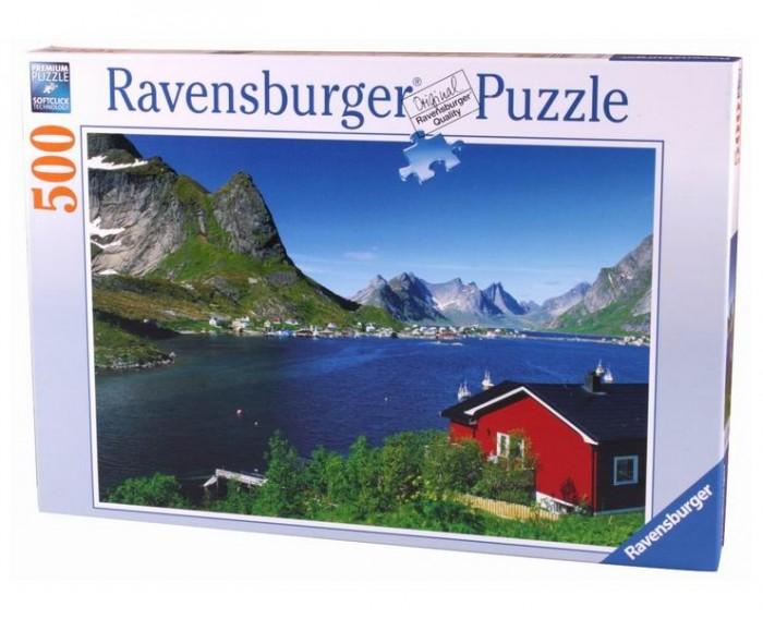 Пазлы Ravensburger Пазл Норвежский фьорд 500 элементов палатки фьорд нансен купить в луганске