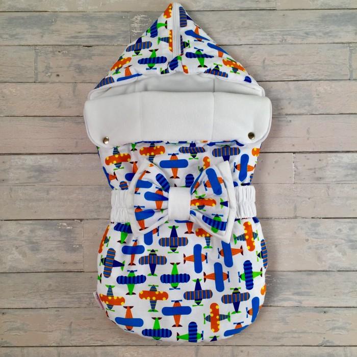 Детская одежда , Конверты на выписку СуперМаМкет Конверт на выписку JustCute Самолеты (осень-зима) арт: 344705 -  Конверты на выписку