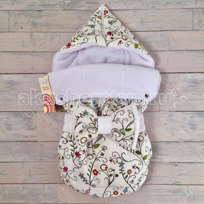 Детская одежда , Конверты на выписку СуперМаМкет Конверт на выписку JustCute Цветы (осень-зима) арт: 344820 -  Конверты на выписку