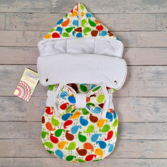 Детская одежда , Конверты на выписку СуперМаМкет Конверт на выписку JustCute Цыплята (осень-зима) арт: 344825 -  Конверты на выписку