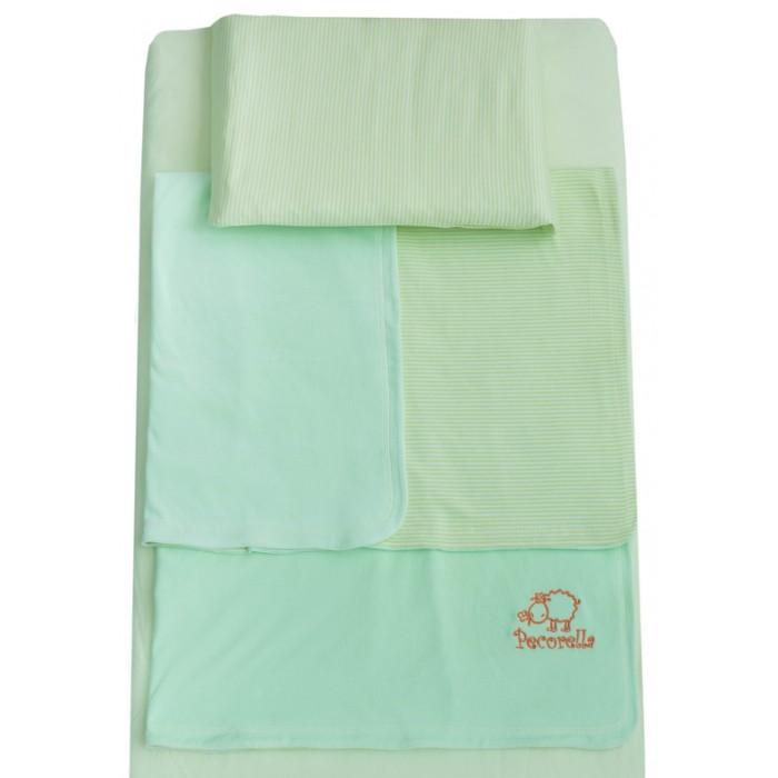 Постельные принадлежности , Постельное белье Pecorella Green Apple (3 предмета) арт: 345230 -  Постельное белье