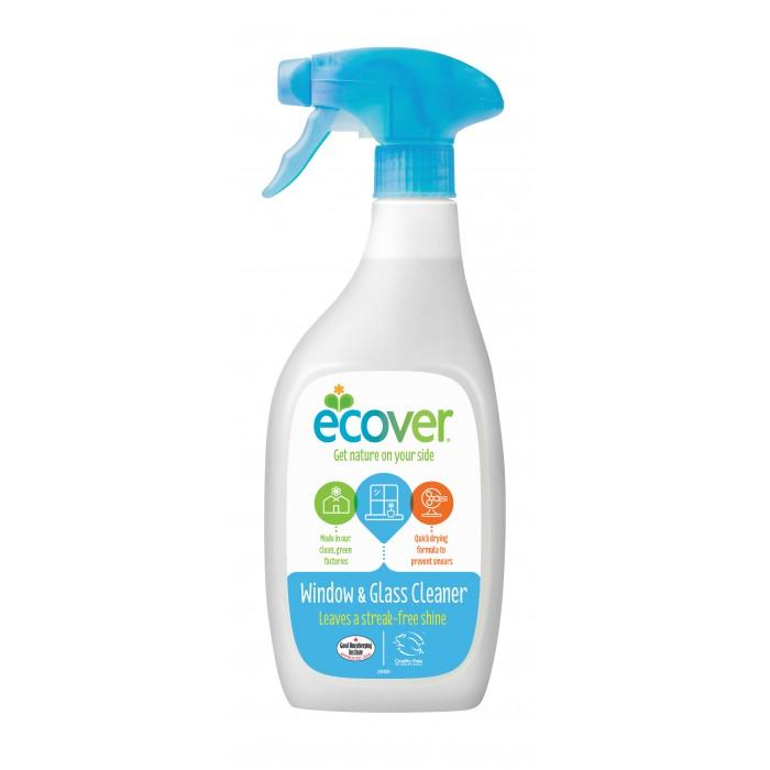 Бытовая химия Ecover Экологический спрей для чистки окон и стеклянных поверхностей 500 мл активный спрей nordland для чистки зеркальных и стеклянных поверхностей 500 мл