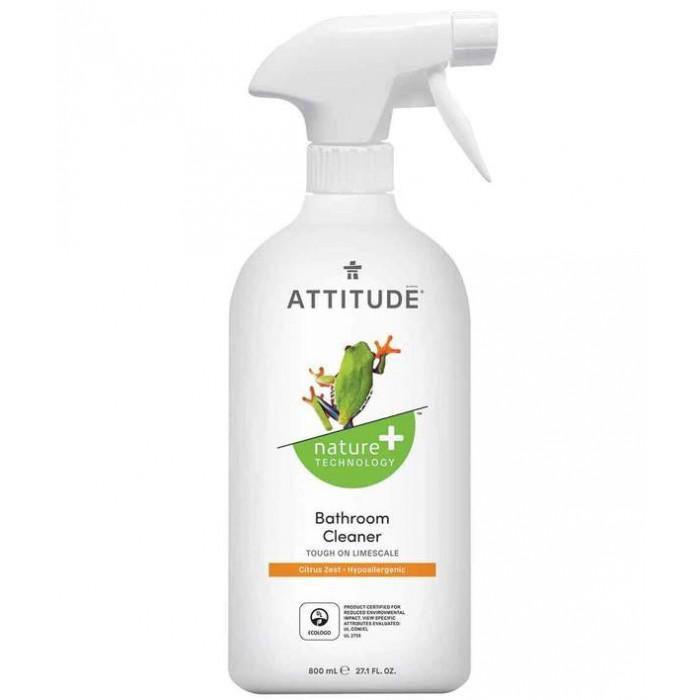 Бытовая химия Attitude Очиститель для ванных комнат 800 мл