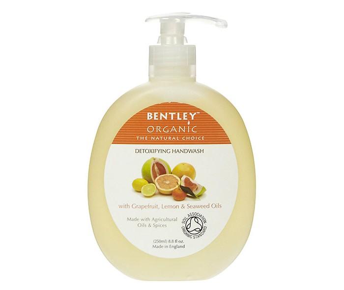 Косметика для мамы Bentley Organic Жидкое мыло Детокс с грейпфрутом, лимоном и водорослями 250 мл bentley organic гель для душа успокаивающий и увлажняющий с лавандой алоэ и жожоба 250 мл