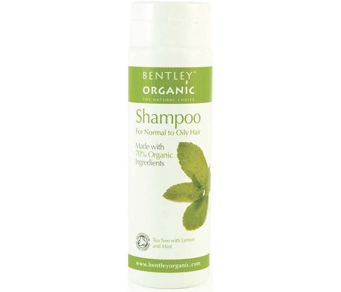 Косметика для мамы Bentley Organic Шампунь для нормальных и жирных волос 250 мл bentley organic мыло жидкое успокаивающее и увлажняющее с лавандой алоэ и жожоба 250 мл