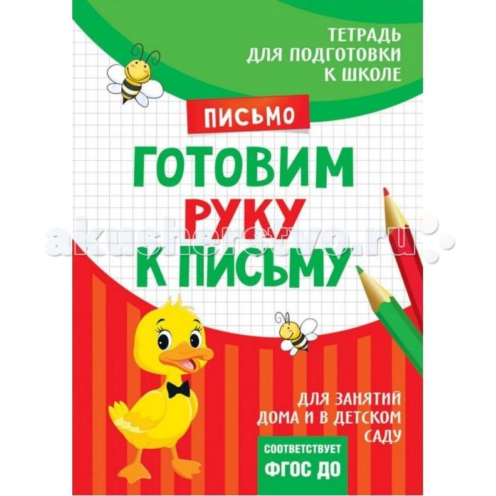 Обучающие книги Росмэн Подготовка к школе. Готовим руку к письму готовим руку к письму развивающие прописи