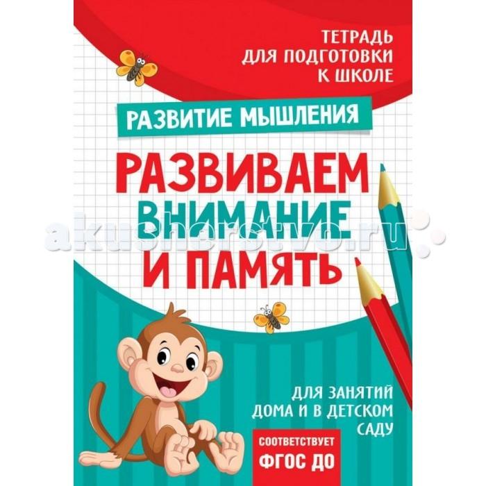 Обучающие книги Росмэн Подготовка к школе. Развиваем внимание и память обучающие книги росмэн книга супертехника