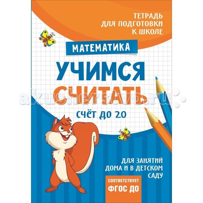 Обучающие книги Росмэн Подготовка к школе. Учимся считать. Счет до 20 консультирование родителей в детском саду возрастные особенности детей