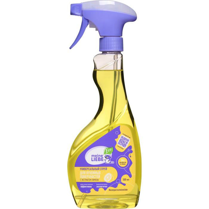 все цены на  Детские моющие средства Meine Liebe Средство для мытья кухонных поверхностей 500 мл  в интернете
